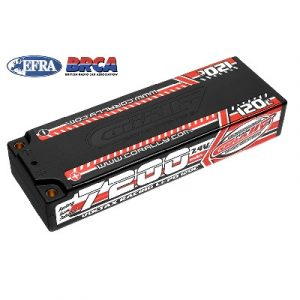 LiPo accu Competition hardcase 4/5mm plug