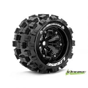 RTR Wielen 1:8 Monster / Truggy 17mm HEX
