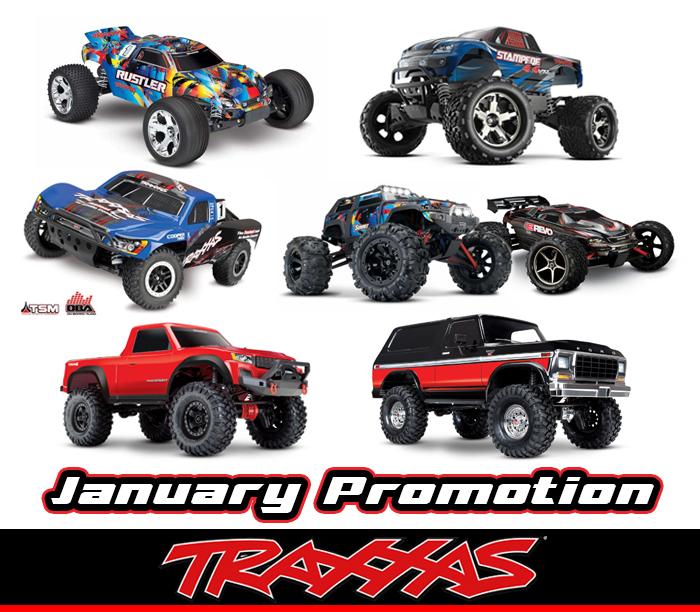 traxxas actie januari sale